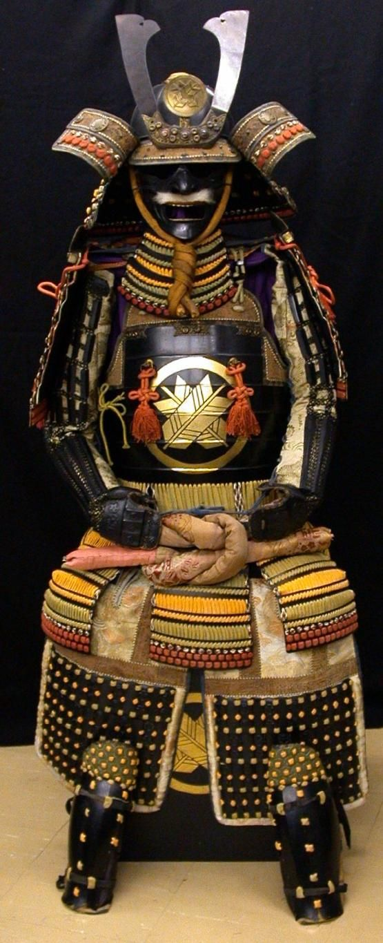 Full body samurai armor
