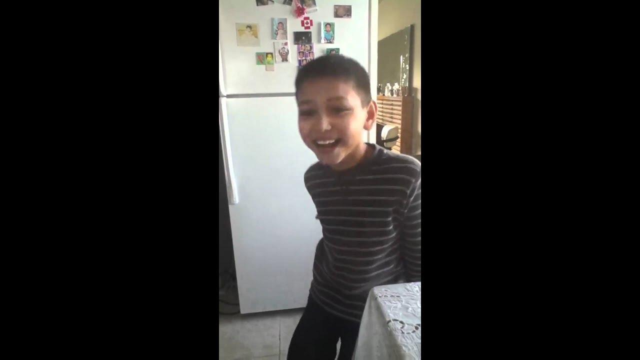 erection Young boy
