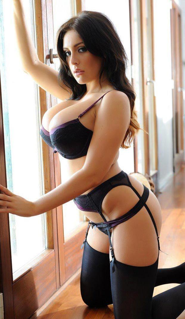 Sexy big ass garter belt