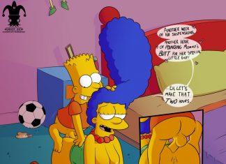 sex Marge simpson