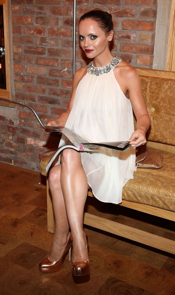 Christina ricci legs