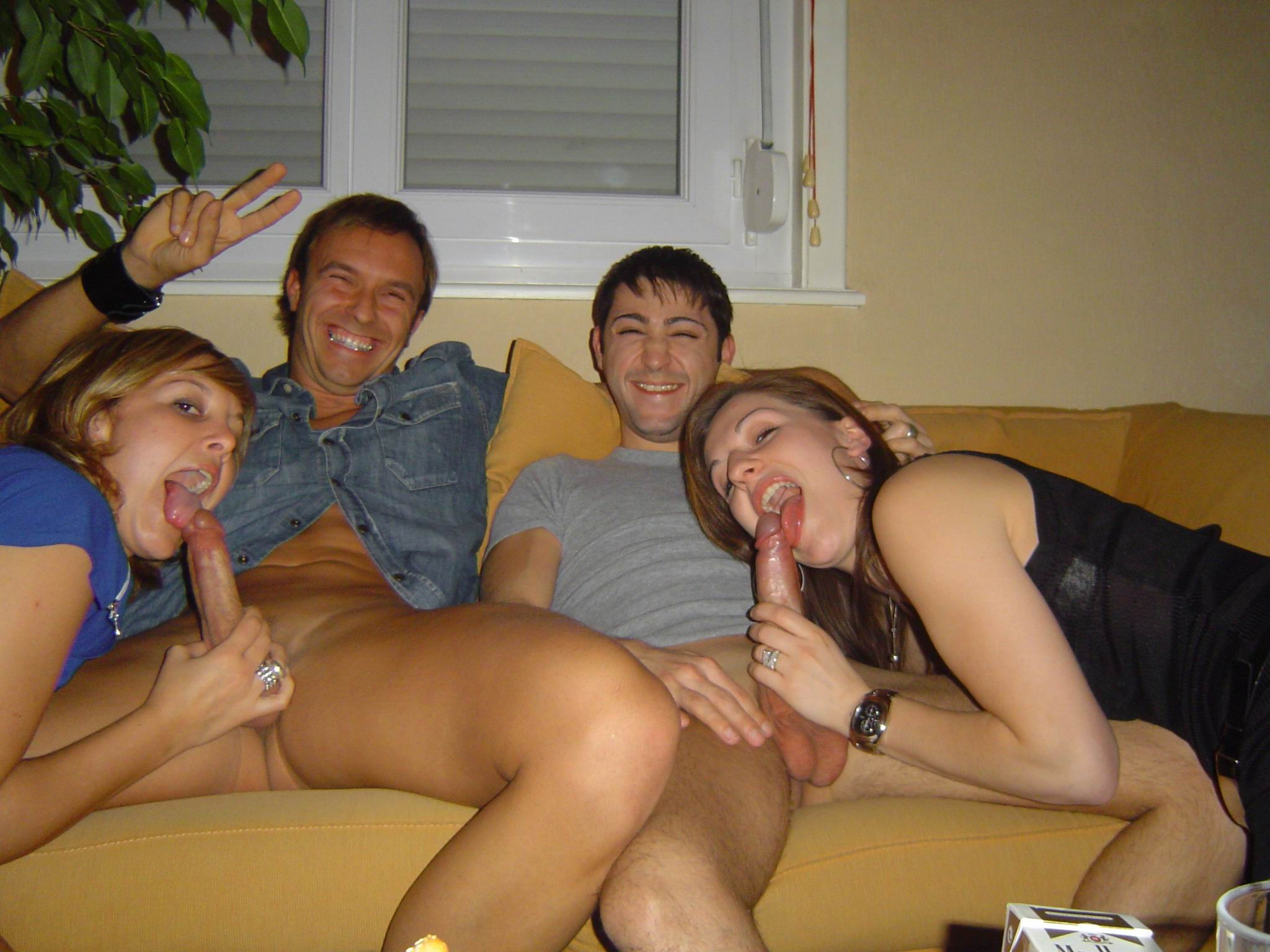 Amateur homemade family sex party