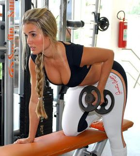 Hot lesbian girls after gym