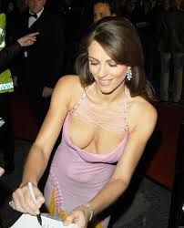 Elizabeth hurley nipple slip