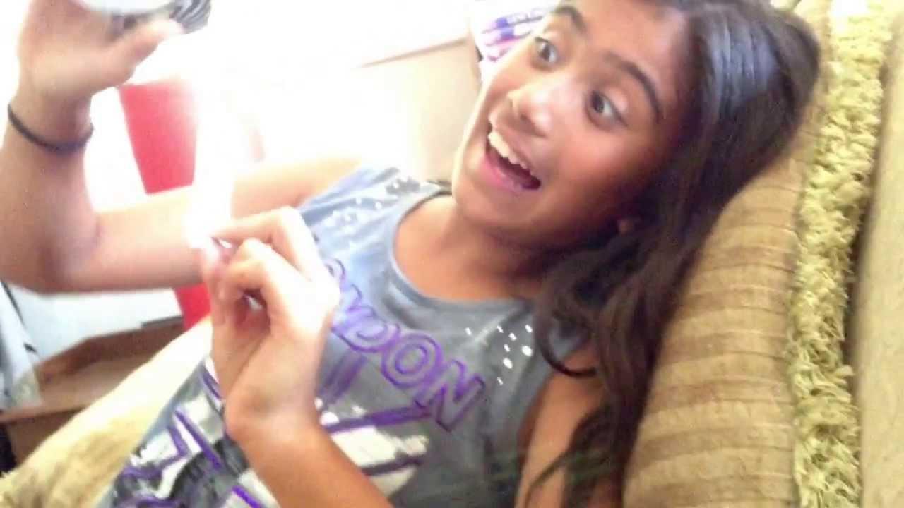 Young girl getting brazilian wax
