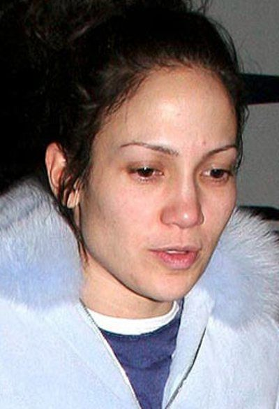 Jennifer lopez no makeup selfie