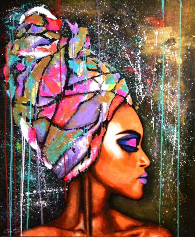 Beautiful african art