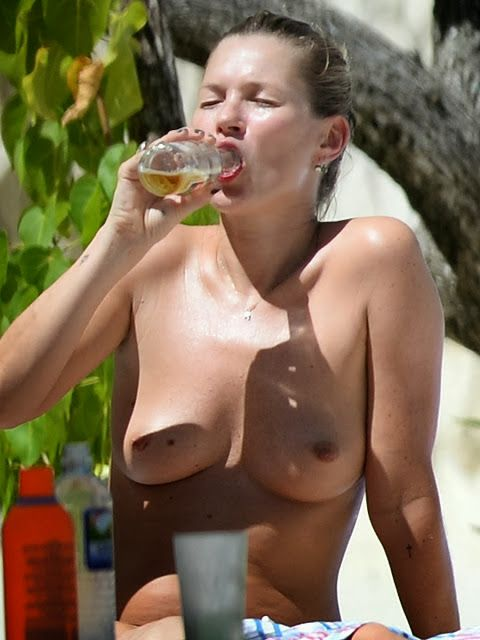 Kate moss topless jamaica