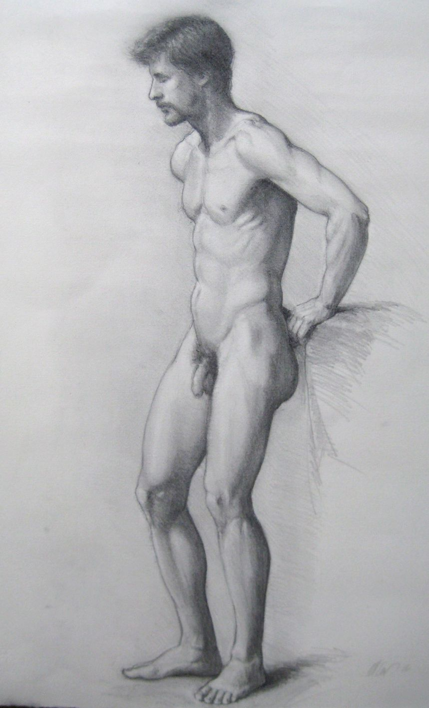 Nude male drawings