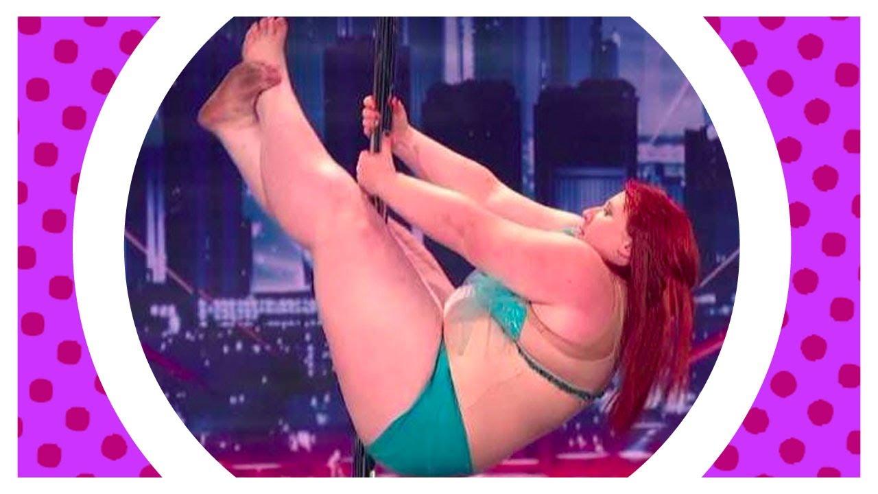 Fat girl stripper
