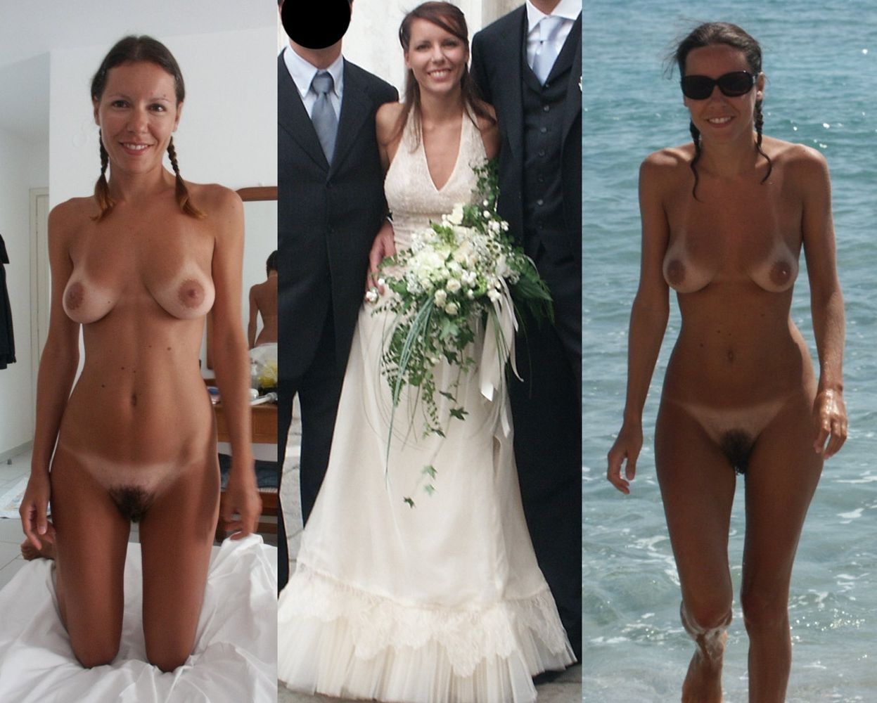 bride nude and after before Tumblr