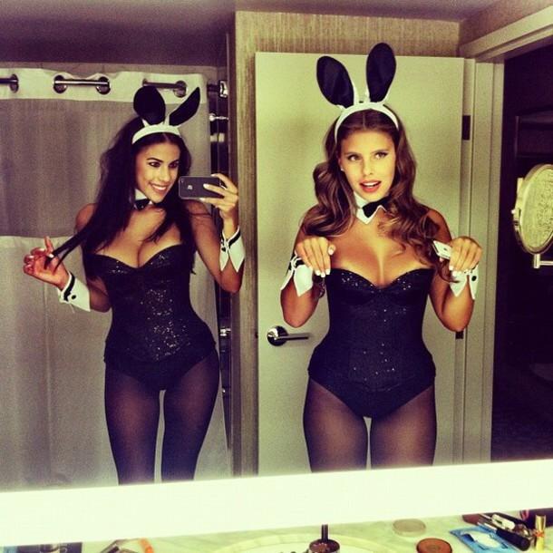 playboy bunny Black