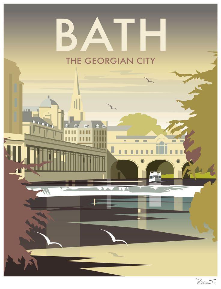 british vintage posters Bristol travel