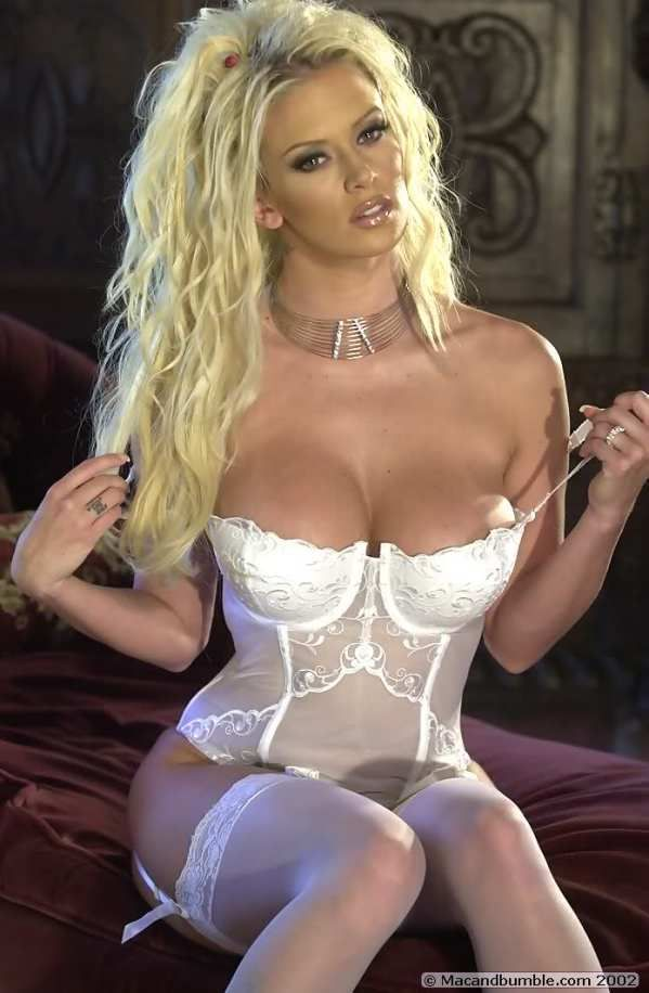 Blue corset club jenna jameson