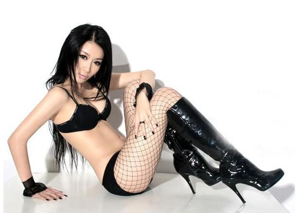 sexy fishnets Hot girl