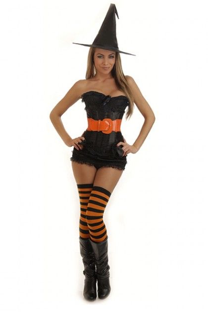 Sexy halloween costumes witch