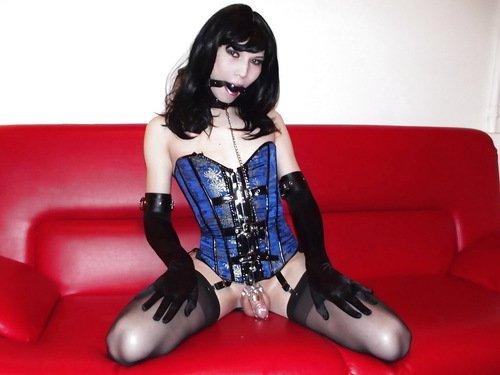 sissy chastity Male maid