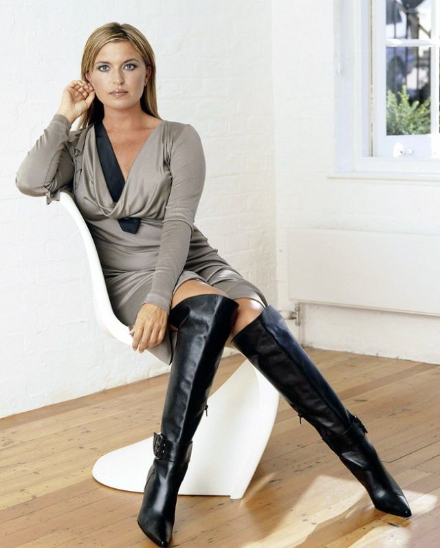 leather and boots pants Shemale