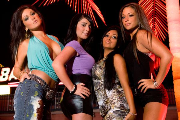 Jersey shore girls fight