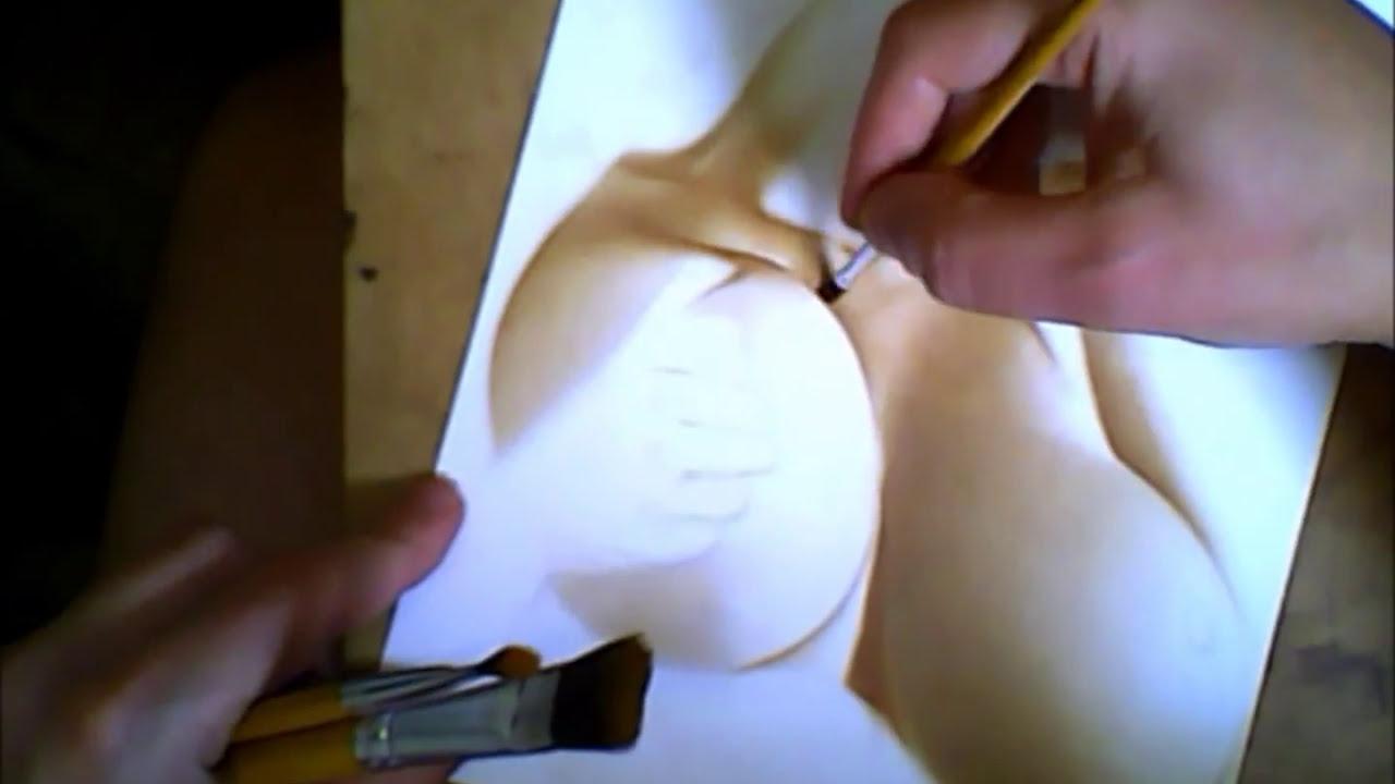 Erotic nude female art