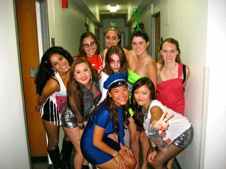 parties Freshman college dorm