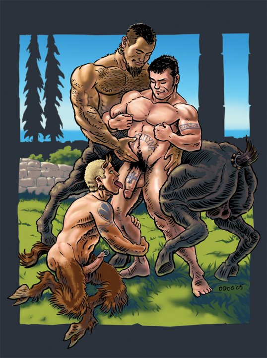 Centaur sex cartoon
