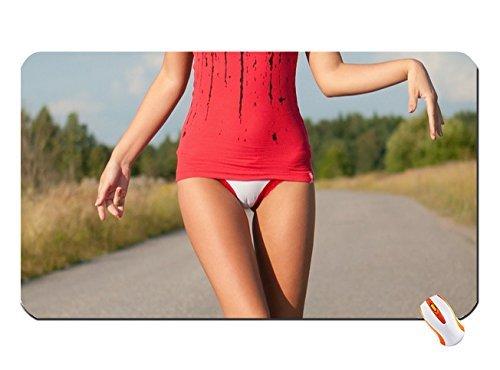 in outdoors Posing panties