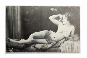 Nude french postcards vintage