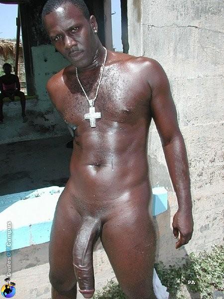 Big dick jamaican men