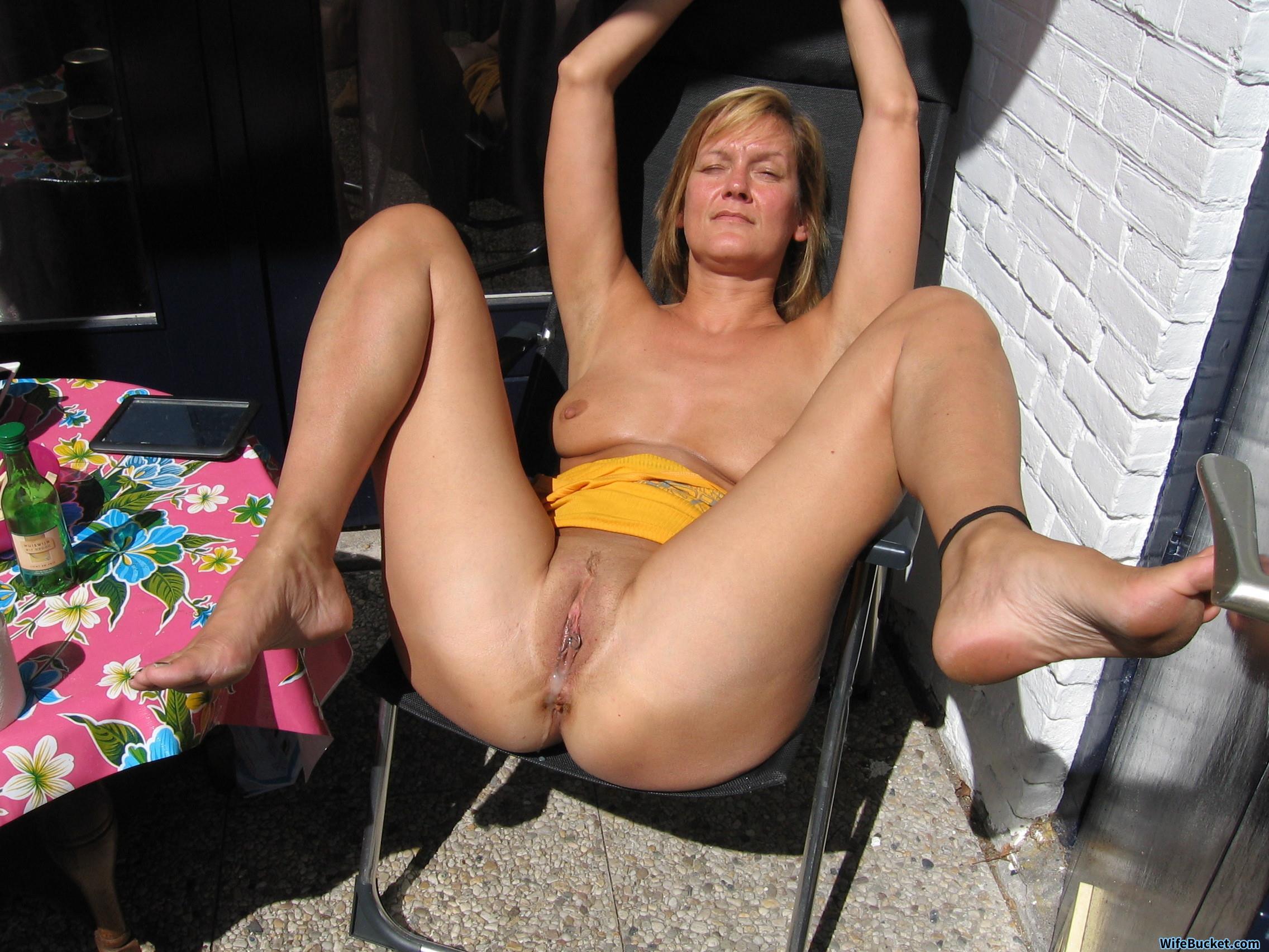 pussy Cum filled milf