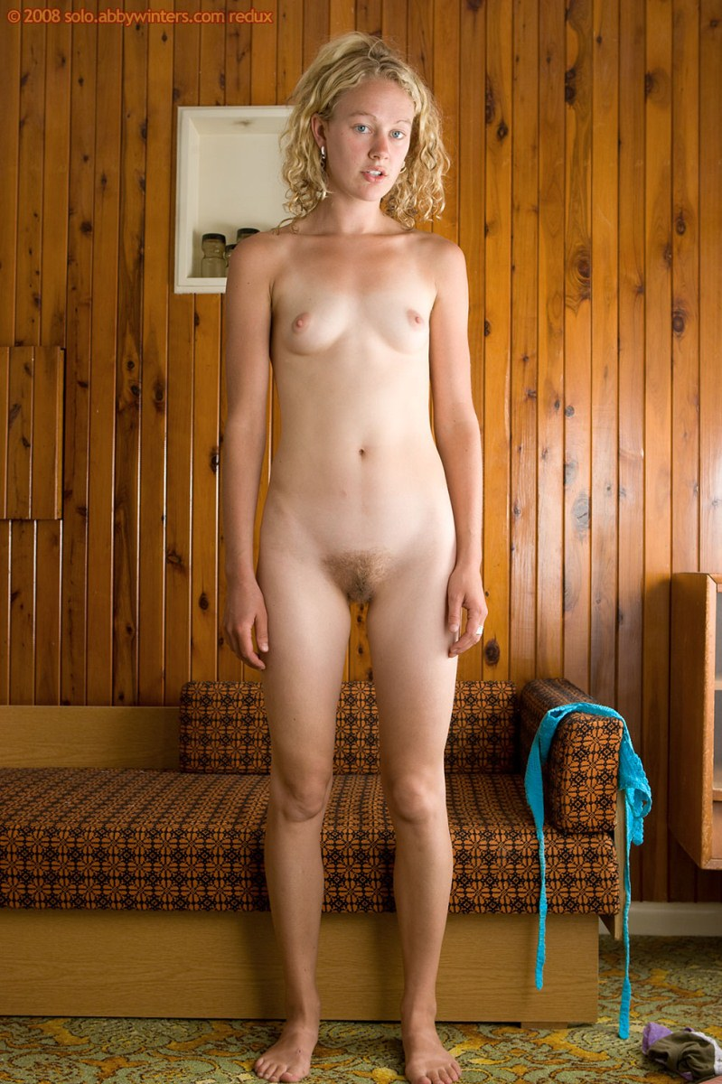 Hairy nude blonde girls
