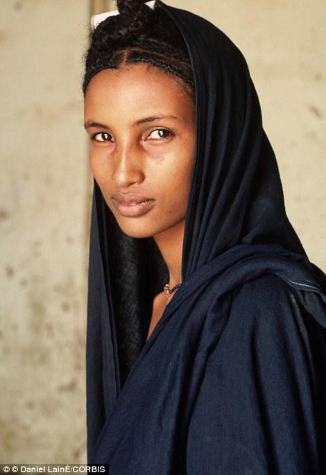 Black african muslim woman sex