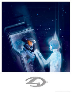 cortana Halo master chief and