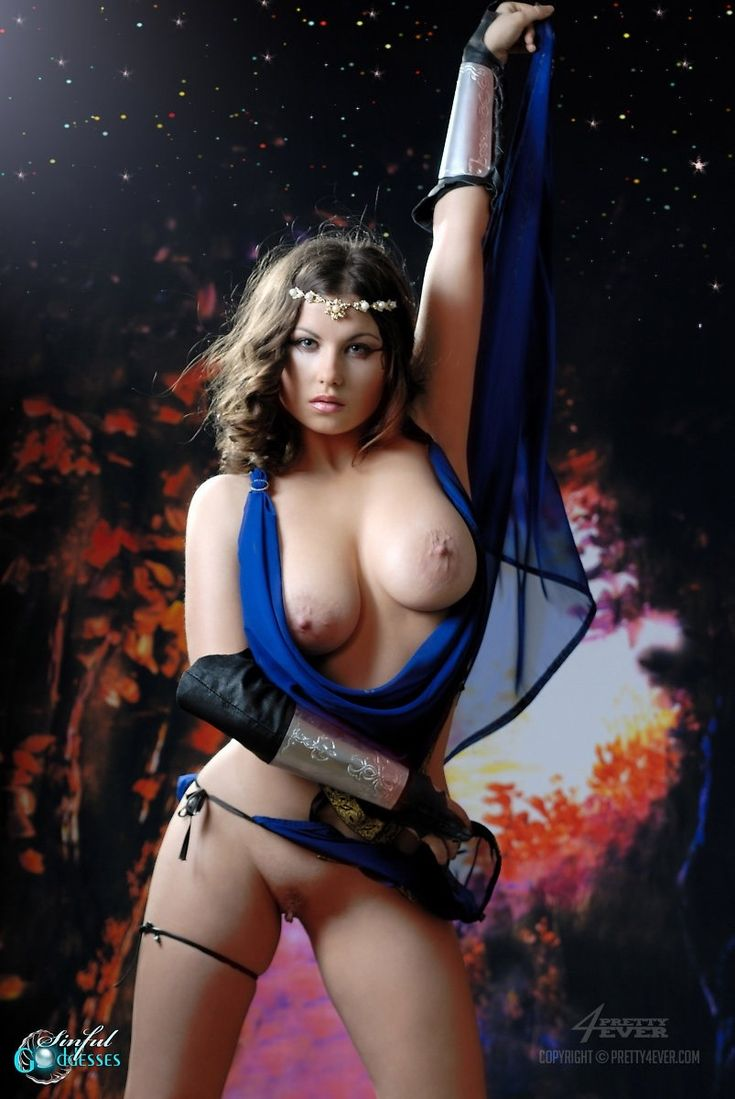 Hot sexy naked gamer girl nude
