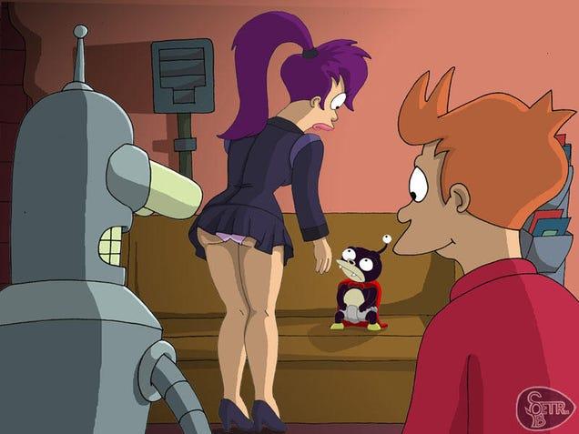 Futurama robot girl porn
