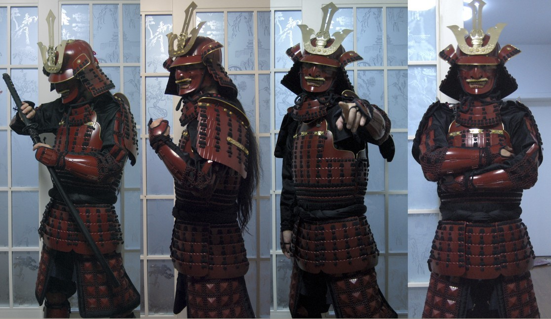 Full body samurai armor