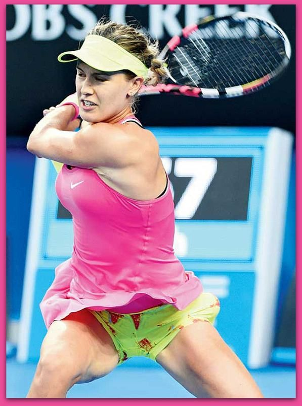 Female tennis player bouchard