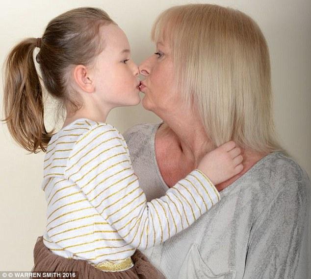 Milf kiss moms girls