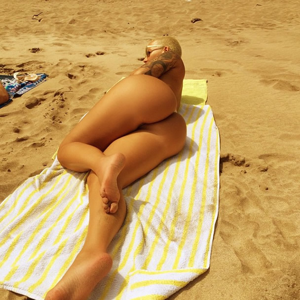 Amber rose nude xxx
