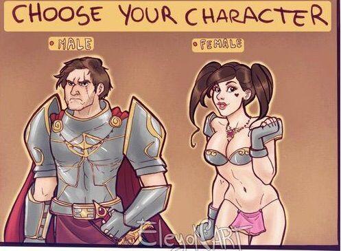 Anime skimpy female armor