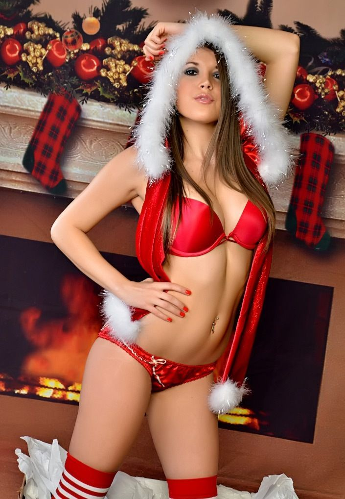 Hot sexy girl christmas