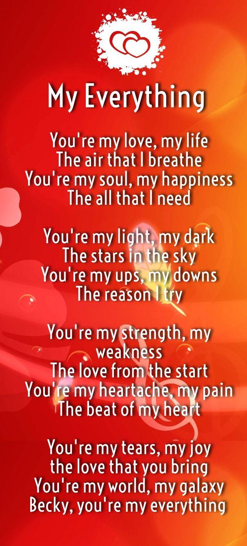 I love you poems love