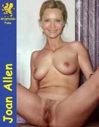 nude Joan allen