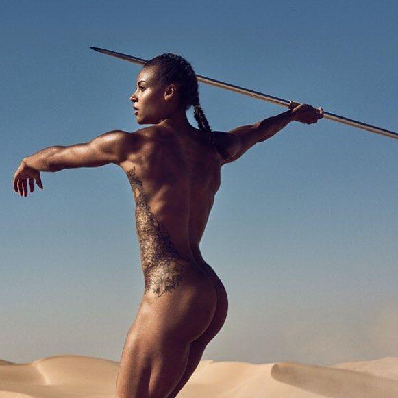 Black nude women athletes