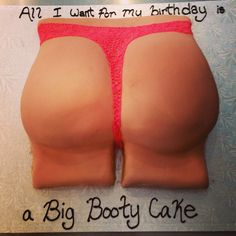 Black gay booty cakes