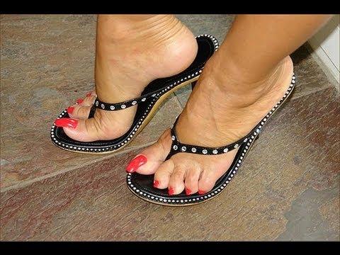 Lady barbara foot