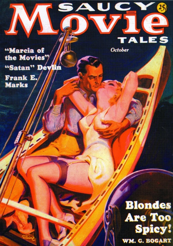 Norman saunders saucy movie tales