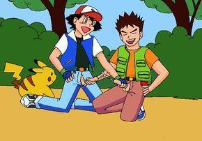 Ash and brock gay porn