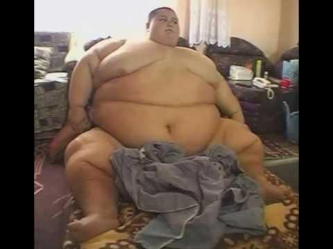 Fat people squashing men