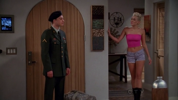 Miley cyrus two and a half men